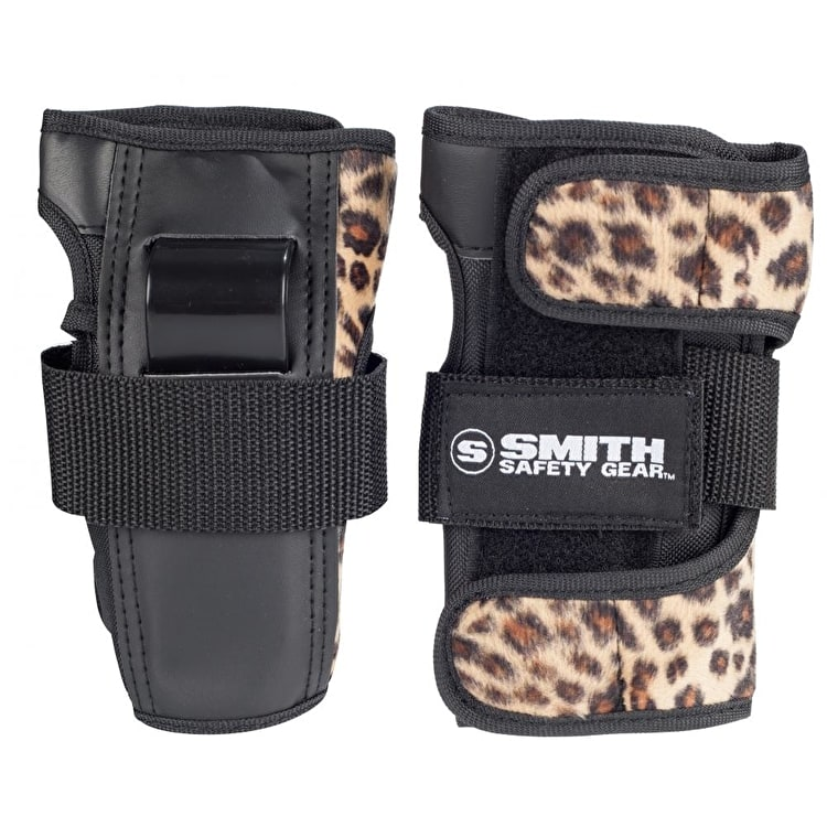 Smith Wrist Guards - Leopard Print